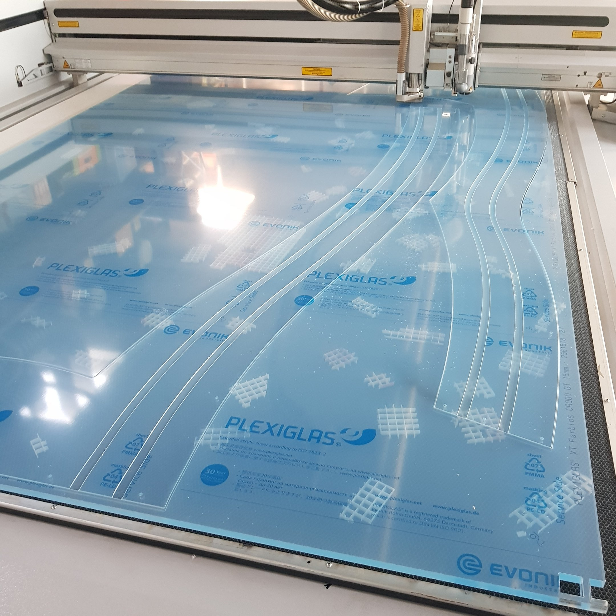 Eurolaser XL3200 mit 15mm Plexiglas