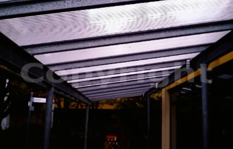 Makrolon Stegplattendach