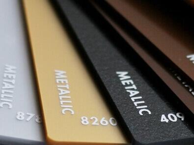 PMMA GS Metallic Farben