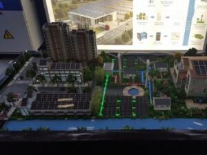Modellbau PV Funktion im Urbanen Bereich