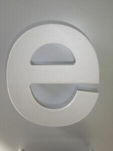 Profilbuchstaben 3