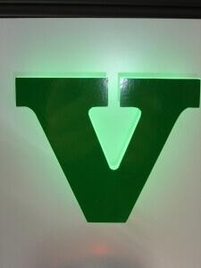 Profilbuchstaben 4