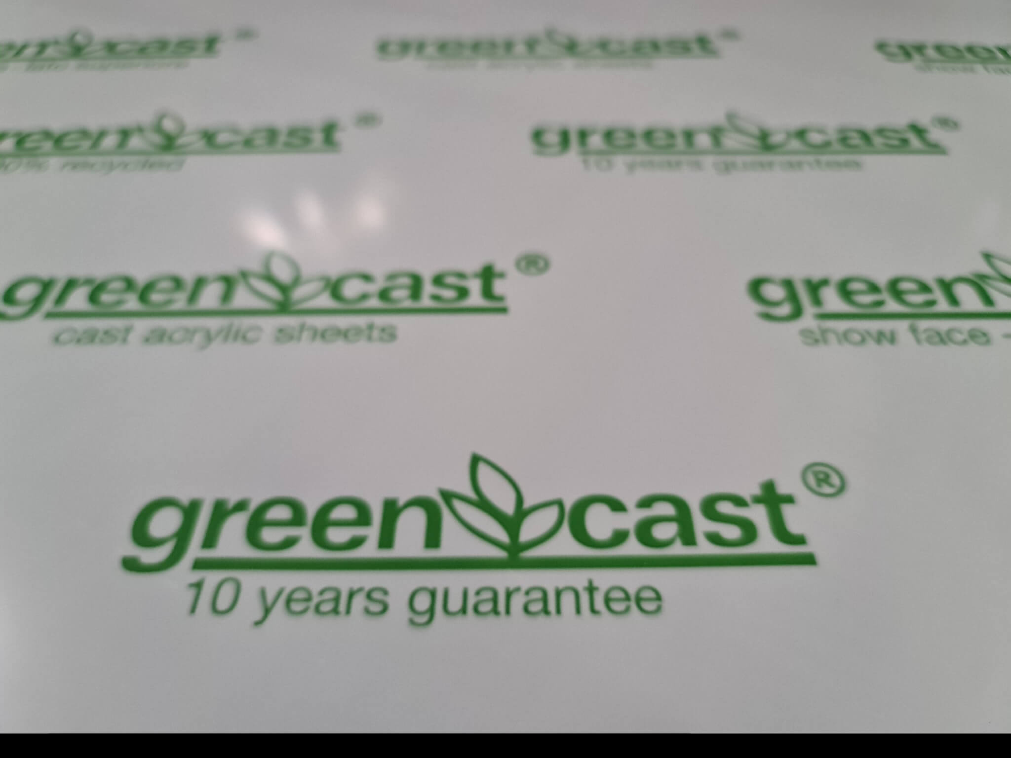 PMMA GS GreenCast_detail
