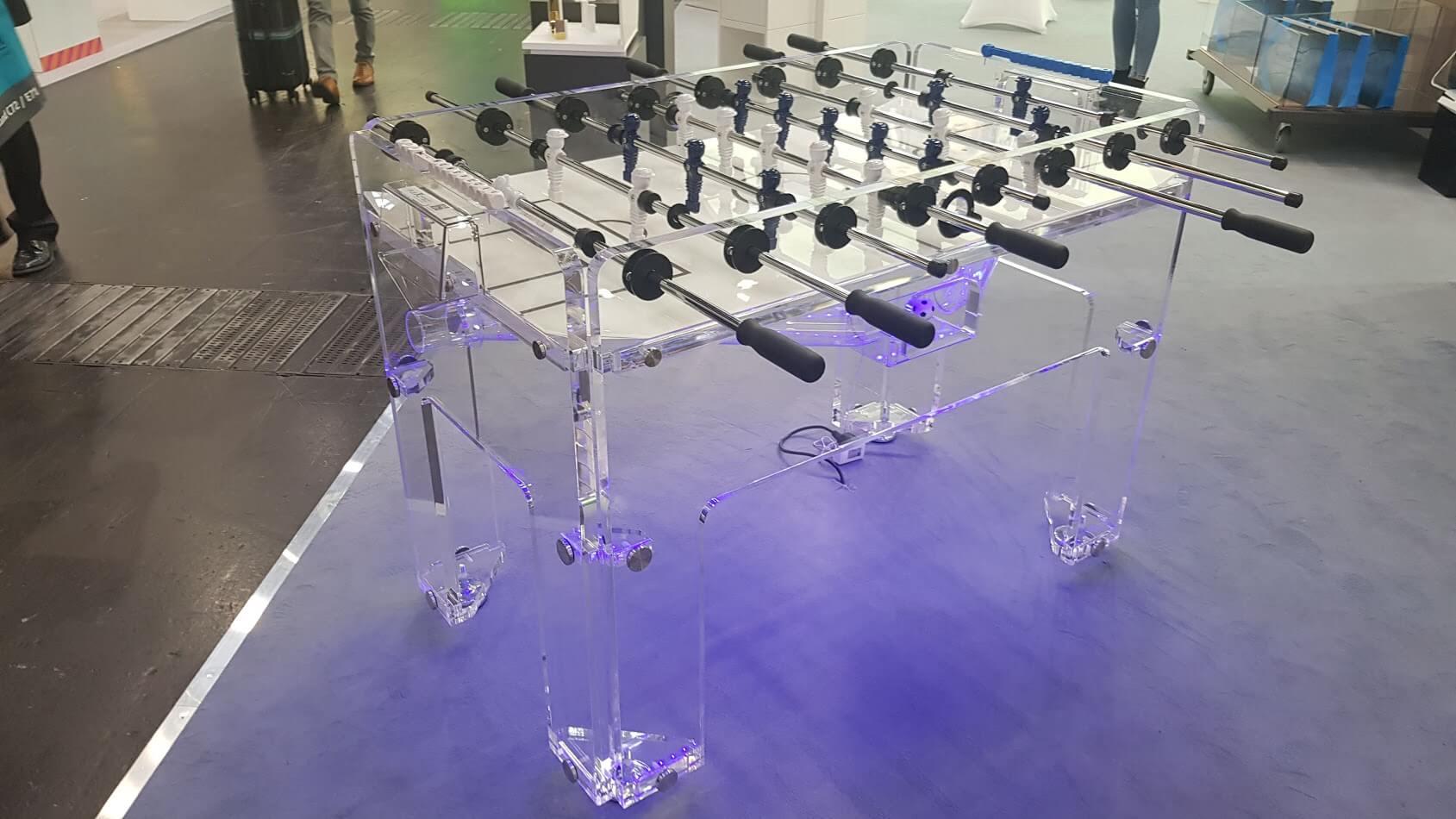 Kicker Tisch LED