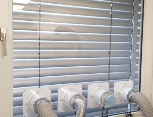mobiles Klimagerät Fensterabdichtung